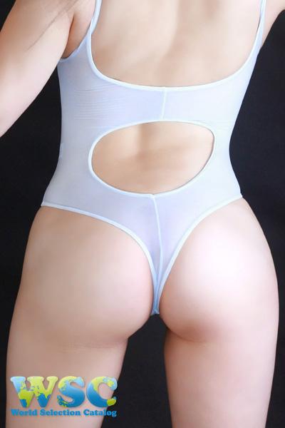エロ下着の通販商品:Tバックプレイスーツ・水色・16078・イメージ写真5