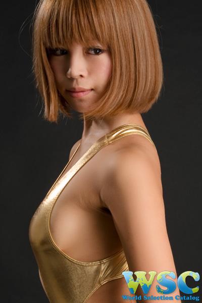 ボディコン通販の商品:ハイレグレオタード・ゴールドE4324・イメージ写真5