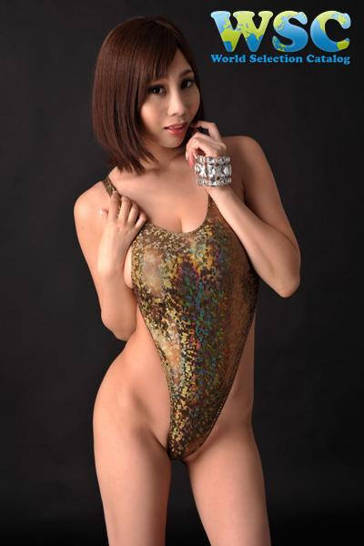 ボディコン通販の商品:ラメグリッターのレオタード・ゴールド4928・イメージ写真5