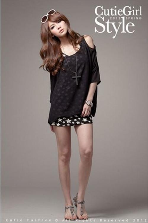 ボディコンの通販商品:肩だしワンピE9564・黒・イメージ写真3