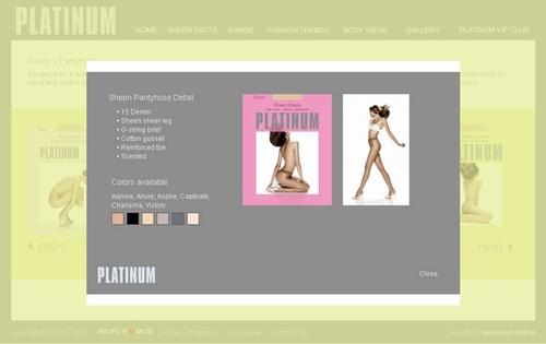 エロ下着の通販商品:美脚光沢パンスト・ベージュ11620・パケッジ写真4