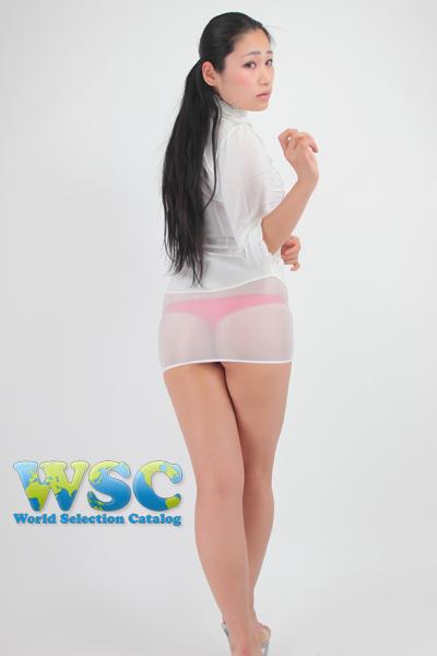 エロ下着の通販商品:透け透明ミニスカート・白52339・イメージ写真1