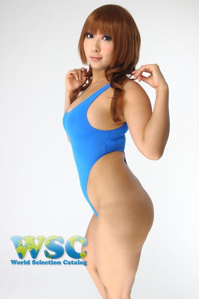 エロ下着の通販商品:ハイレグTバックレオタード・92604ブルー・イメージ写真2