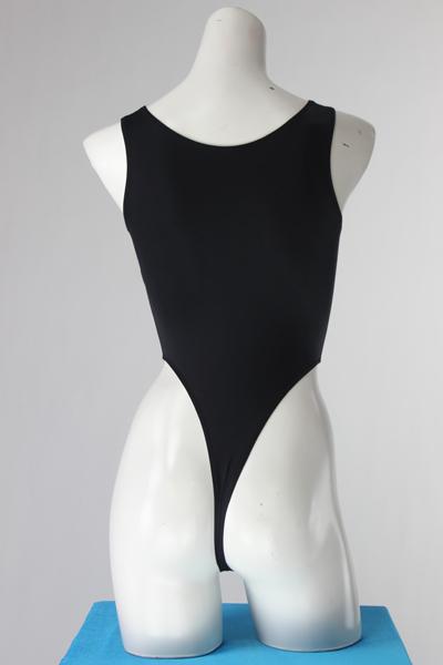 エロ下着の通販商品:ハイレグレオタード・黒・93947・イメージ写真3