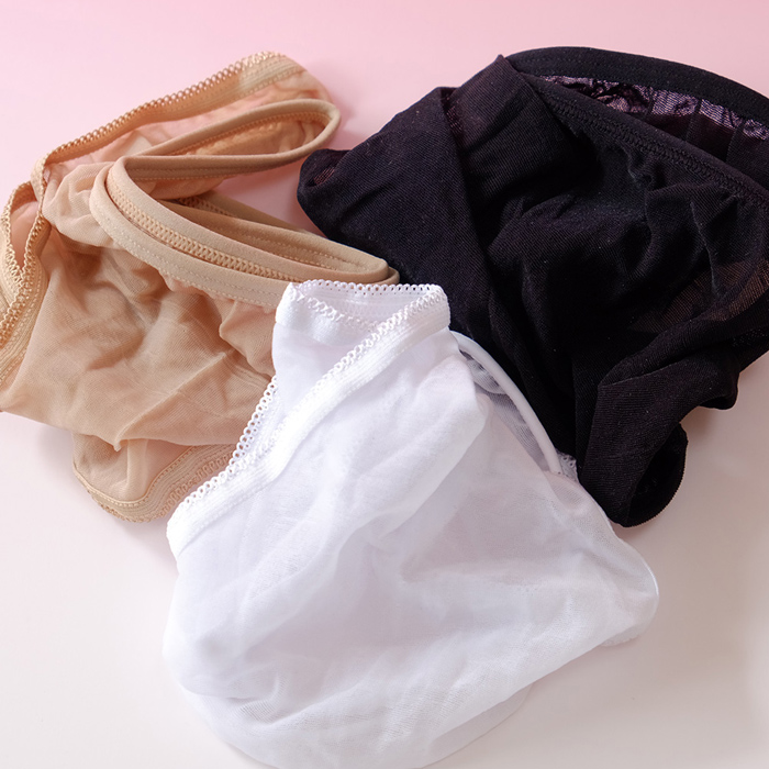 エロ下着の通販商品:ストッキング素材の無地透けTバックDY5237・カラー参照・イメージ写真