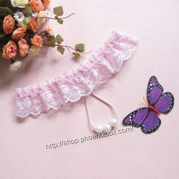 エロ下着の通販商品:真珠ショーツTバック7213・ピンク・イメージ写真