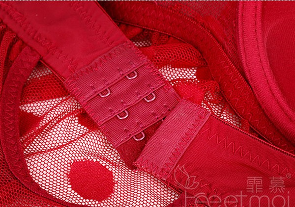 エロ下着の通販商品:ワイヤー付のベビードール黒・8814・イメージ写真8
